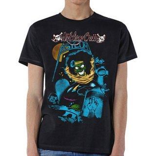 MOTLEY CRUE Feelgood Graveyard Vintage, Tシャツ