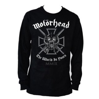 MOTORHEAD Iron Cross, ロングTシャツ