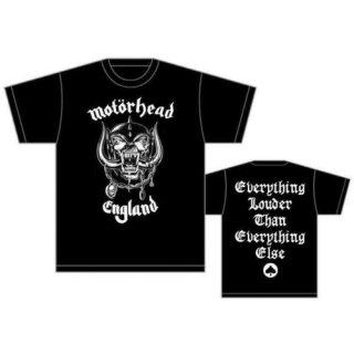 MOTORHEAD England, Tシャツ
