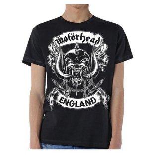 MOTORHEAD Crossed Swords England Crest, Tシャツ