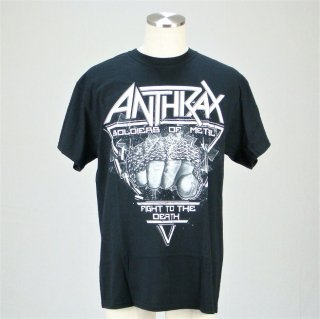 ANTHRAX Soldier of Metal FTD, Tシャツ