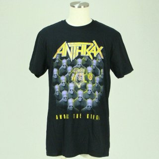 ANTHRAX Among the Kings (with Back Print), Tシャツ