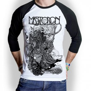 MASTODON Hermit, ラグラン七分袖Tシャツ