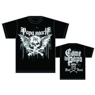 PAPA ROACH Crossbones Drips, Tシャツ
