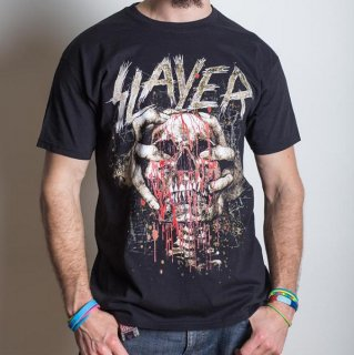 SLAYER Skull Clench, Tシャツ
