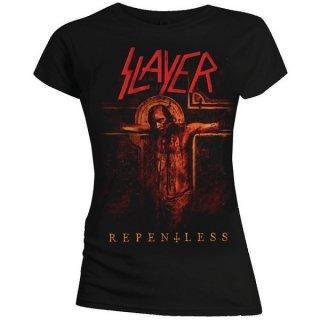 SLAYER Repentless Crucifix, レディースTシャツ
