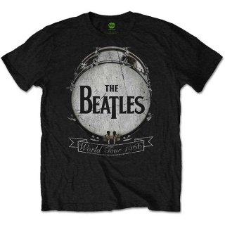 THE BEATLES World Tour 1966 Blk, Tシャツ