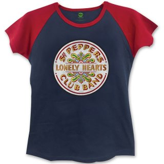 THE BEATLES Sgt Pepper with Skinny Fitting, レディースTシャツ