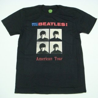 THE BEATLES American Tour 1964 with Back Printing, Tシャツ