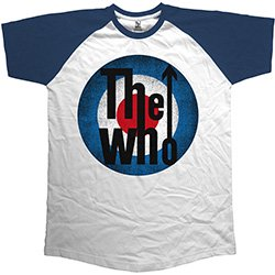 THE WHO Vintage Target, ラグランTシャツ