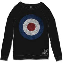 THE WHO Target Distressed, スウェットシャツ