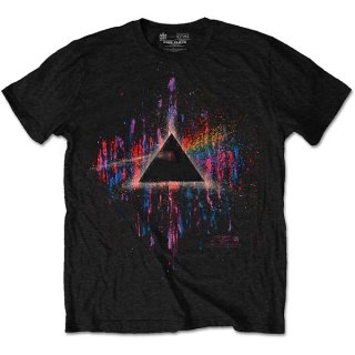 PINK FLOYD Dark Side Of The Moon Pink Splatter, Tシャツ