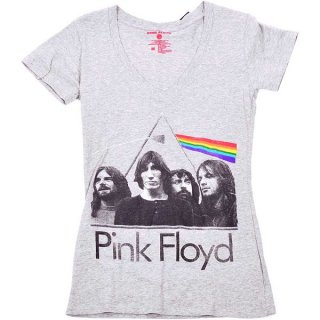 PINK FLOYD Dark Side Of The Moon Band, レディースTシャツ