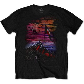 PINK FLOYD The Wall Flag & Hammers, Tシャツ