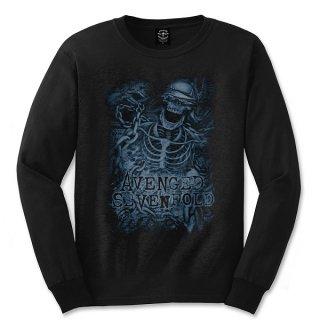 AVENGED SEVENFOLD Chained Skeleton, ロングTシャツ