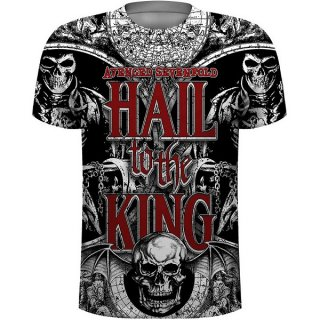 AVENGED SEVENFOLD All Over with Sublimation Printing, Tシャツ