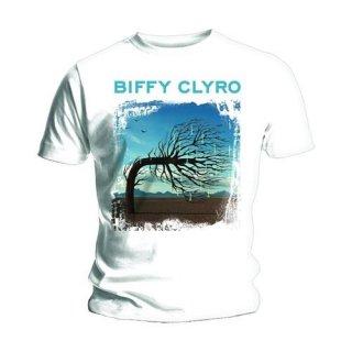 BIFFY CLYRO Opposites White, Tシャツ
