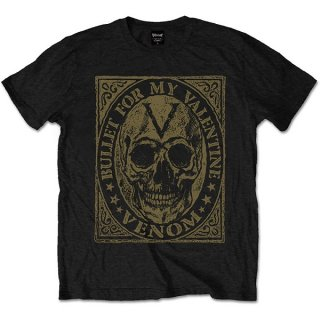 BULLET FOR MY VALENTINE Venom Skull, Tシャツ