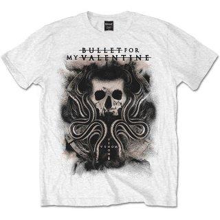 BULLET FOR MY VALENTINE Snakes & Skull, Tシャツ