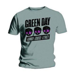 GREEN DAY Three Heads Better Than One, Tシャツ