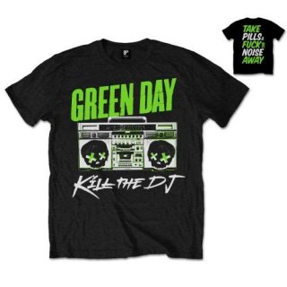 GREEN DAY Kill the DJ, Tシャツ