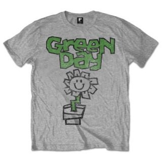 GREEN DAY Flower Pot, Tシャツ