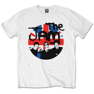 THE JAM Union Jack Circle, Tシャツ