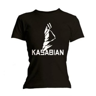 KASABIAN Ultra Black, レディースTシャツ