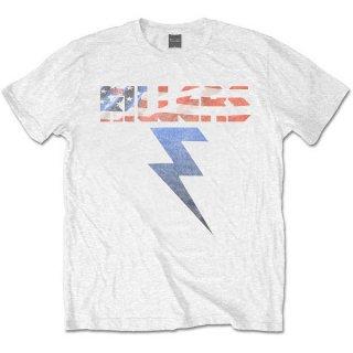THE KILLERS Bolt White, Tシャツ