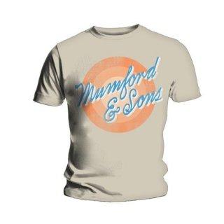 MUMFORD & SONS Sun Script, Tシャツ