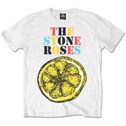 THE STONE ROSES Logo Lemon Multicolour, Tシャツ