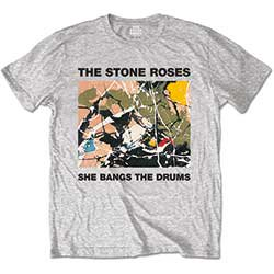 THE STONE ROSES She Bangs The Drums, Tシャツ