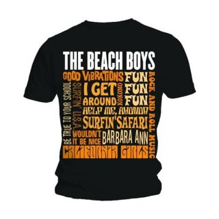 THE BEACH BOYS Best of SS, Tシャツ