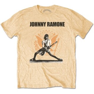 RAMONES Johnny Ramone Rockin N Seal, Tシャツ