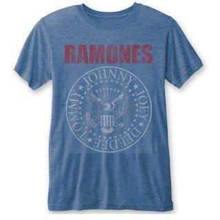 RAMONES Presidential Seal (Burn Out), Tシャツ