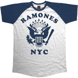 RAMONES Retro Eagle, ラグランTシャツ