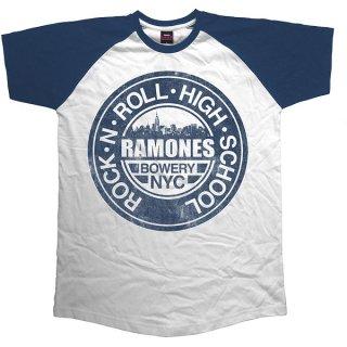 RAMONES Bowery Nyc, ラグランTシャツ