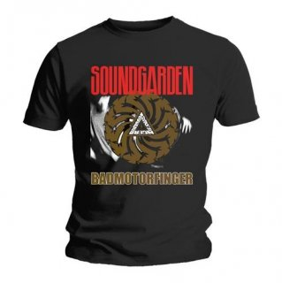 SOUNDGARDEN Bad Motor Finger Black, Tシャツ