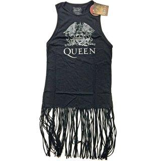 QUEEN Crest Vintage with Tassels, タンクトップ(レディース)
