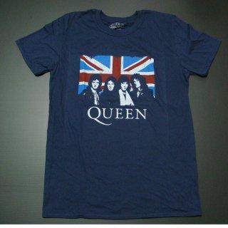 QUEEN Union Jack Navy, Tシャツ