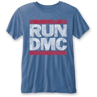 RUN DMC Vintage Logo (Burn Out), Tシャツ