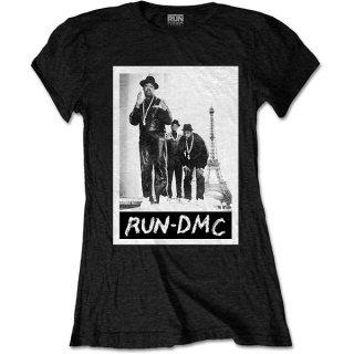 RUN DMC Paris Photo, レディースTシャツ