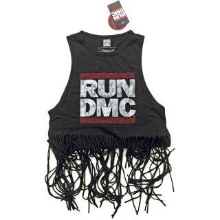 RUN DMC Logo Vintage With Tassels, タンクトップ(レディース)