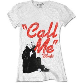 BLONDIE Call Me, レディースTシャツ