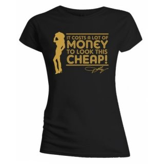 DOLLY PARTON Lot of Money, レディースTシャツ