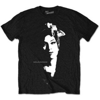 AMY WINEHOUSE Scarf Portrait, Tシャツ
