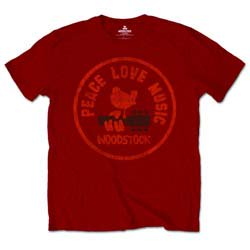 WOODSTOCK Love Peace Music, Tシャツ