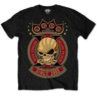 FIVE FINGER DEATH PUNCH Anniversary X, Tシャツ