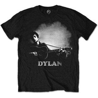 BOB DYLAN Guitar & Logo, Tシャツ