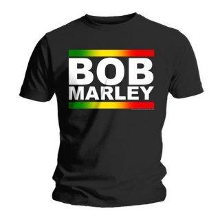 BOB MARLEY Rasta Band Block, Tシャツ